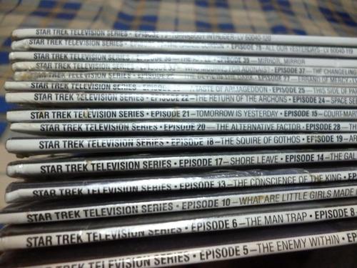star trek, la serie, 15 laserdisc sellados