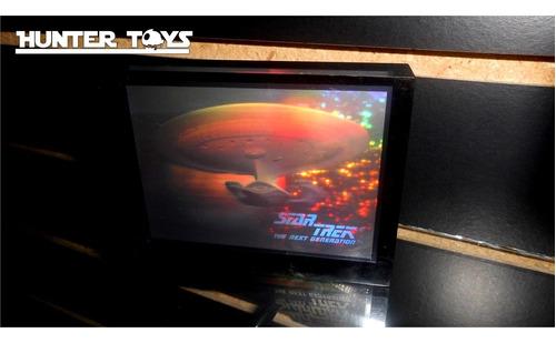 star trek, nave enterprise, tarjeta holgrafica, tel.35846340