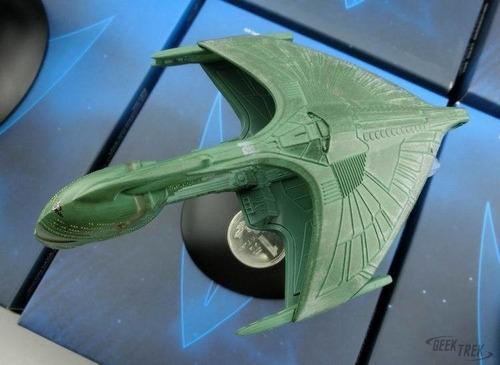 star trek romulan warbird - nave romulana - pronta entrega
