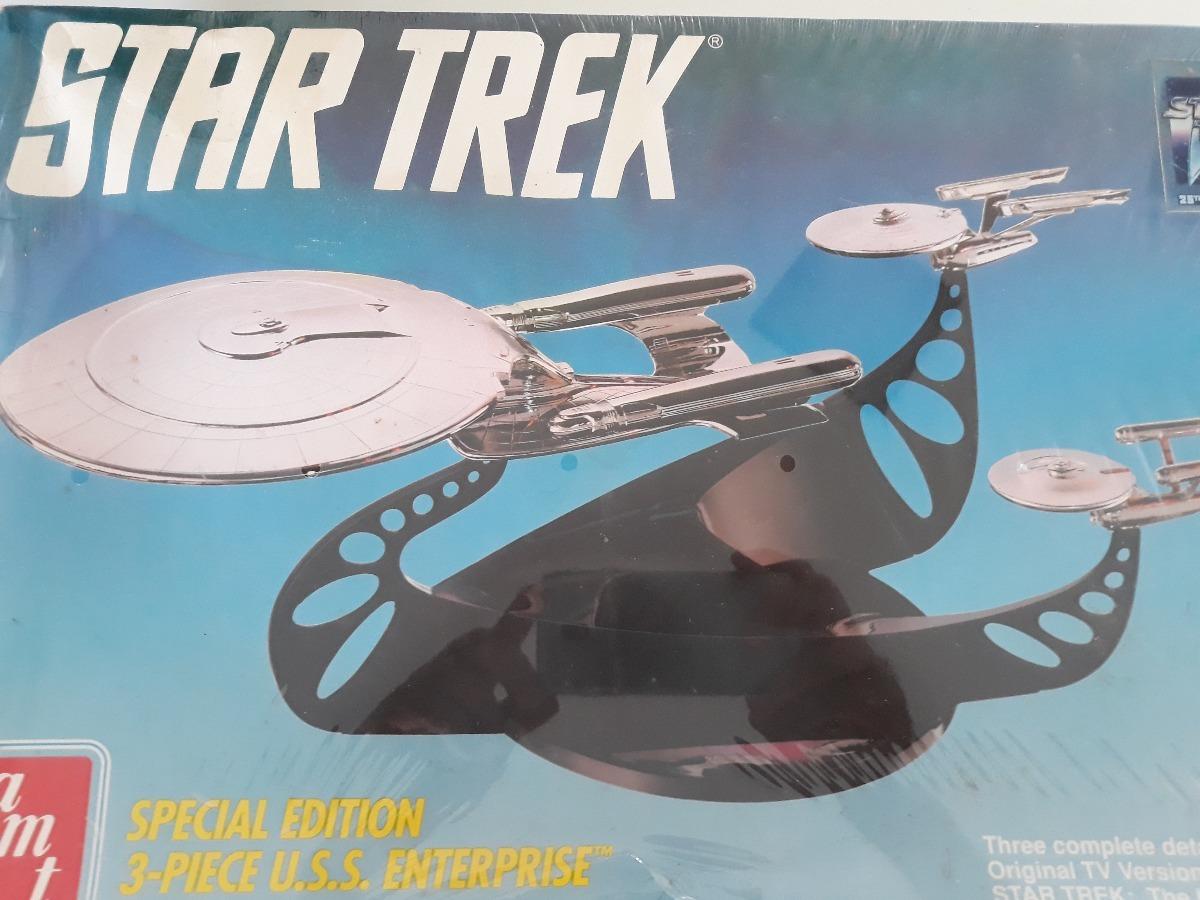 Enterprise Chrome Set Star Trek Special Edition 3-Piece U.S.S