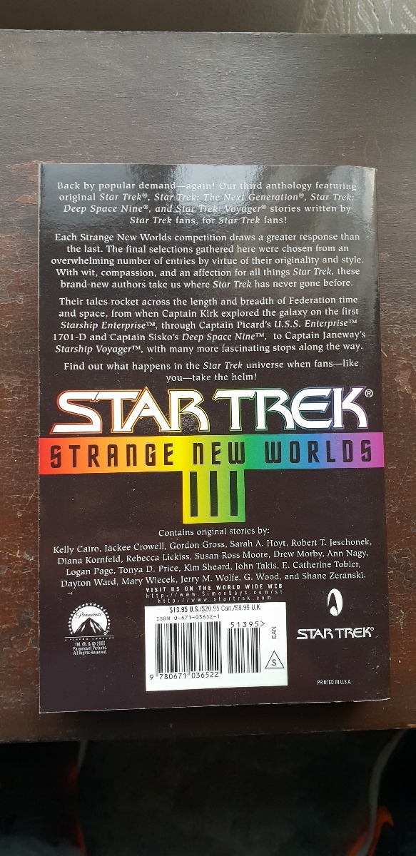 Star Trek Strange New Worlds Iii 30000 En Mercado Libre