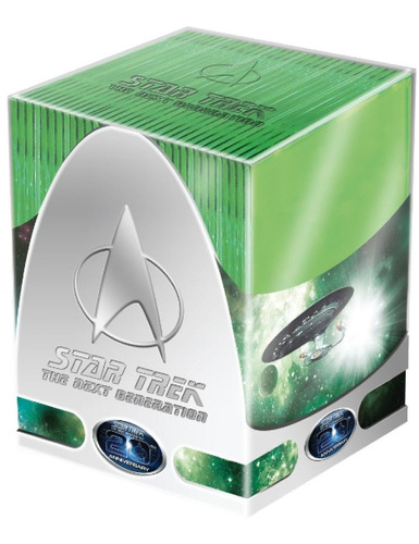 star trek the next generation  serie de tv completa en dvd