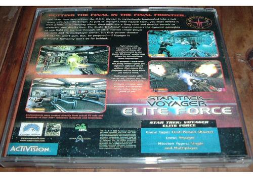 star trek voyager elite force juego pc envíos gratis!
