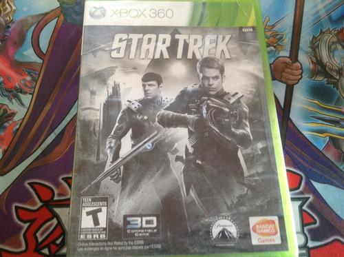 star trek.  xbox 360.  nuevo