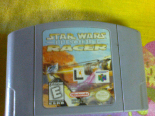 star wards episode 1 racer . nintendo 64 original