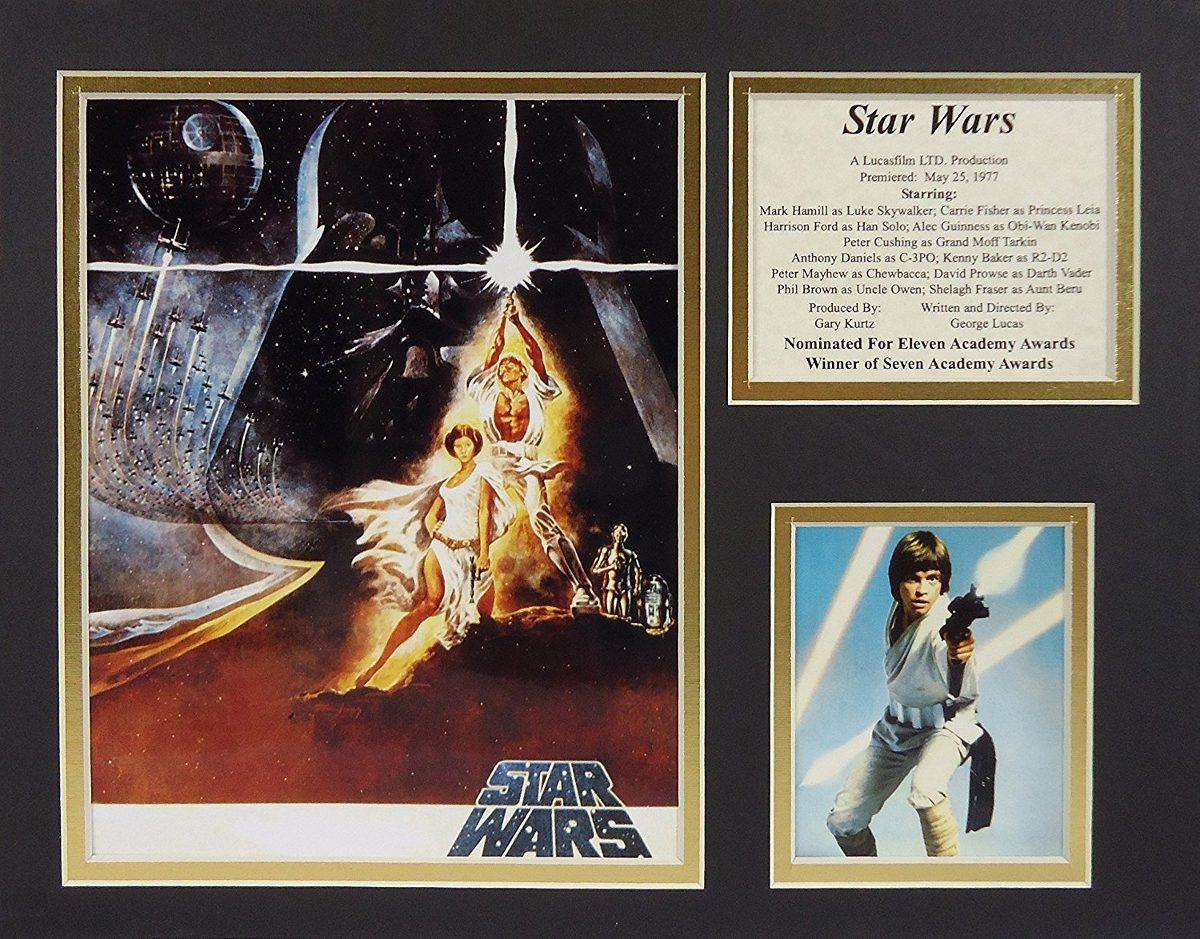 Star Wars 11 X 14 Collage De Fotos Enmarcadas Sin Marco ...