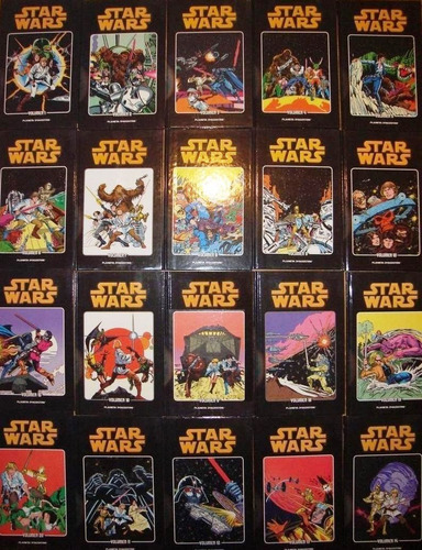 star wars 20 tomos planeta agostini nuevos completa
