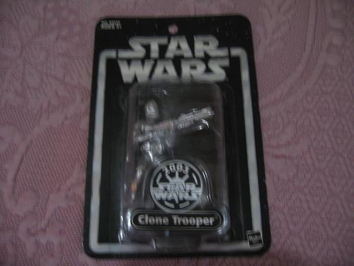 star wars 2003 silver anniversary clone trooper