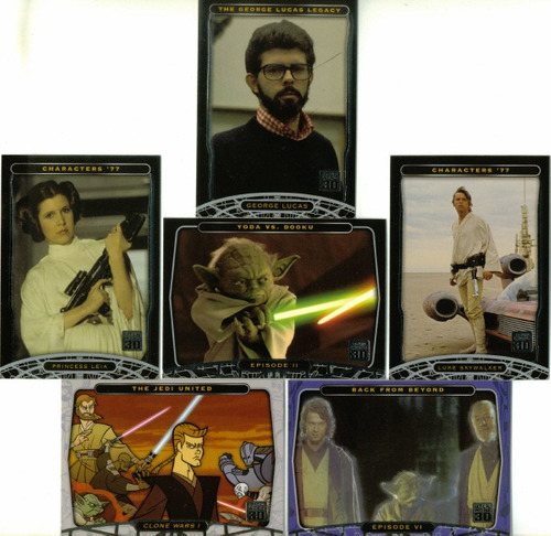star wars 30th anniversario premium trading card set sp0