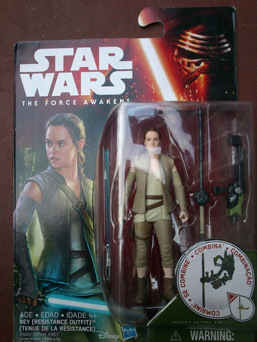 star wars 7 rey (resistance outfit) the force awakens