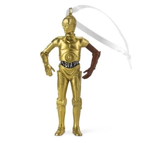 star wars adorno para arbolito de navidad c3po droide nuevo