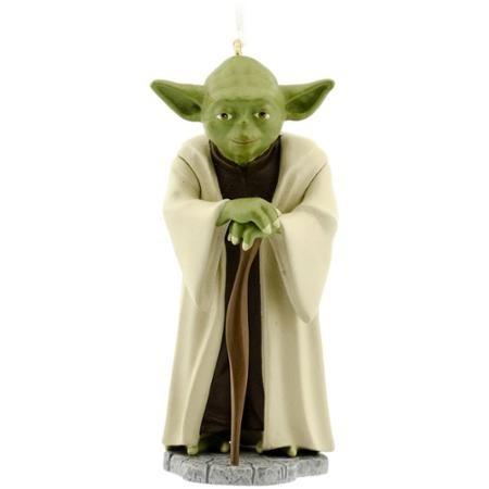 star wars adorno para arbolito de navidad maestro yoda nuevo