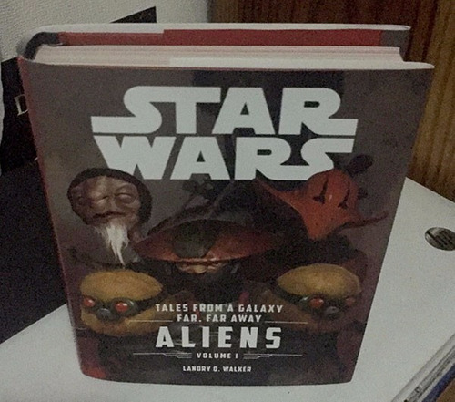 star wars aliens tales from a... libro en ingles canonico