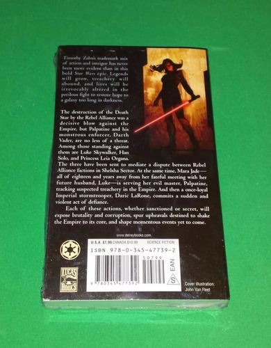 star wars - allegiance - timothy zahn - livro novo
