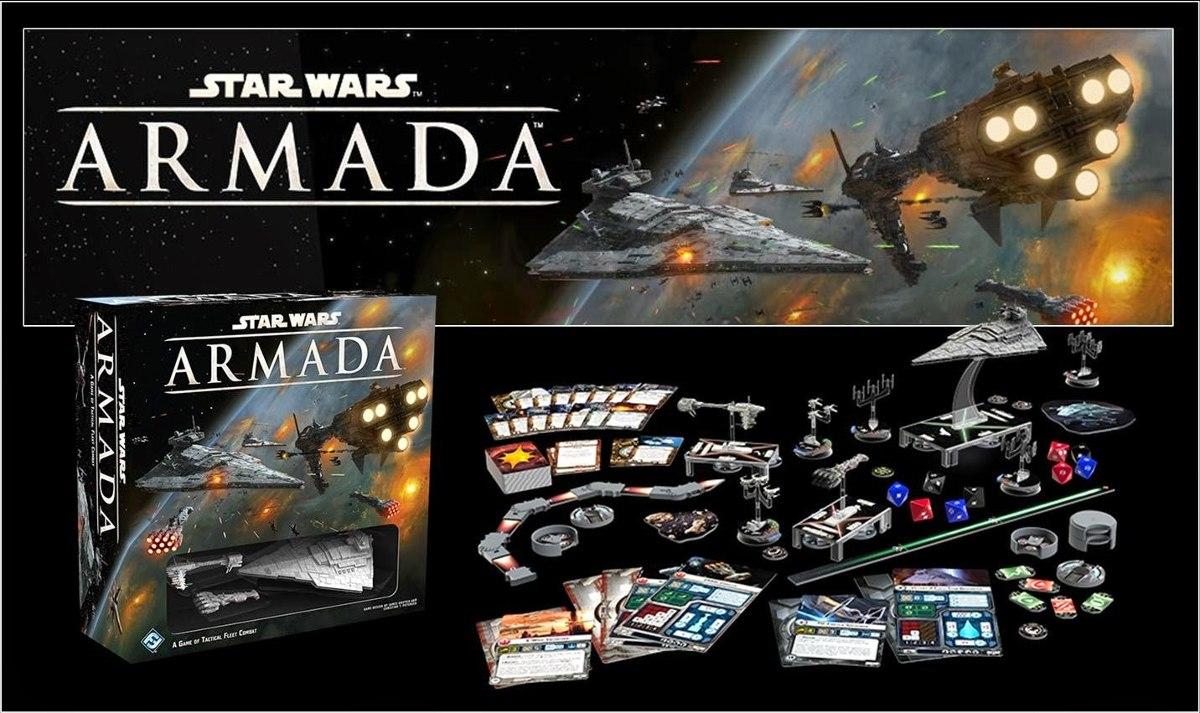 Star Wars Armada Juego De Mesa Miniaturas En Ingles 8 949 95 En