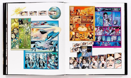 star wars art - comics - livro - george lucas