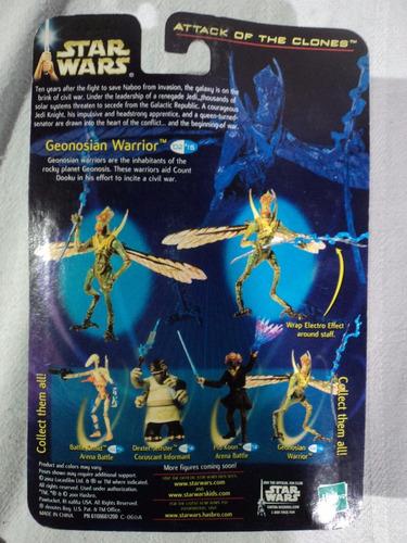 star wars attack of the clones geonosian warrior 2002