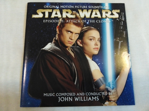 star wars attack of the clones soundtrack  cd omi