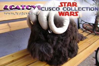 star wars bantha #3 100% lana de alpaca lcatoys