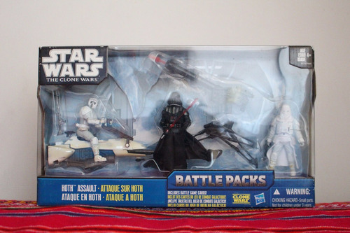 star wars battle pack hoth assault nuevo