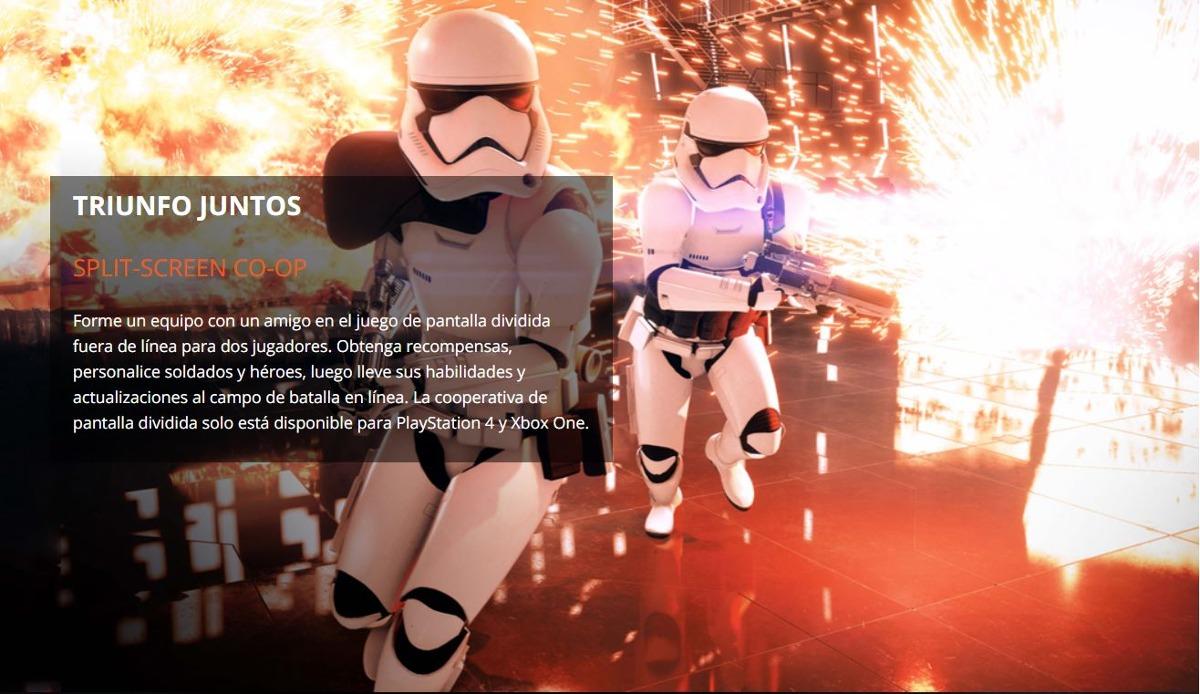 Star Wars Battlefront 2 Ps4 Juego Fisico Nuevos Y Sellados U S 34