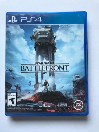 star wars battlefront ps4- fisico - envio gratis