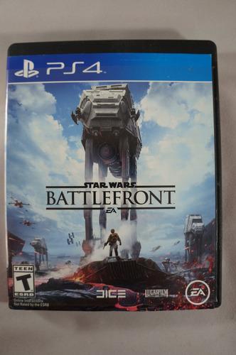 star wars battlefront ps4 solo venta