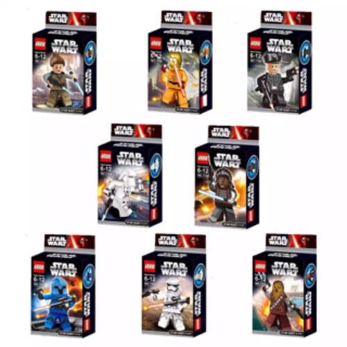 star wars black mini figuras set x 8 ud. - fair play toys