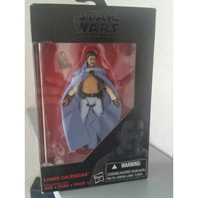 Star Wars Black Series 3.75  Lando, Han Solo, Luke