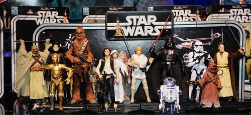 star wars black series 40 aniversario 12 figuras