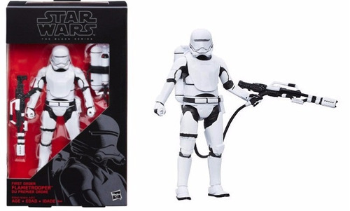 star wars black series 6  force awaken flametrooper