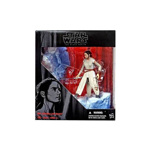 star wars black series 6 rey (base starkiller)