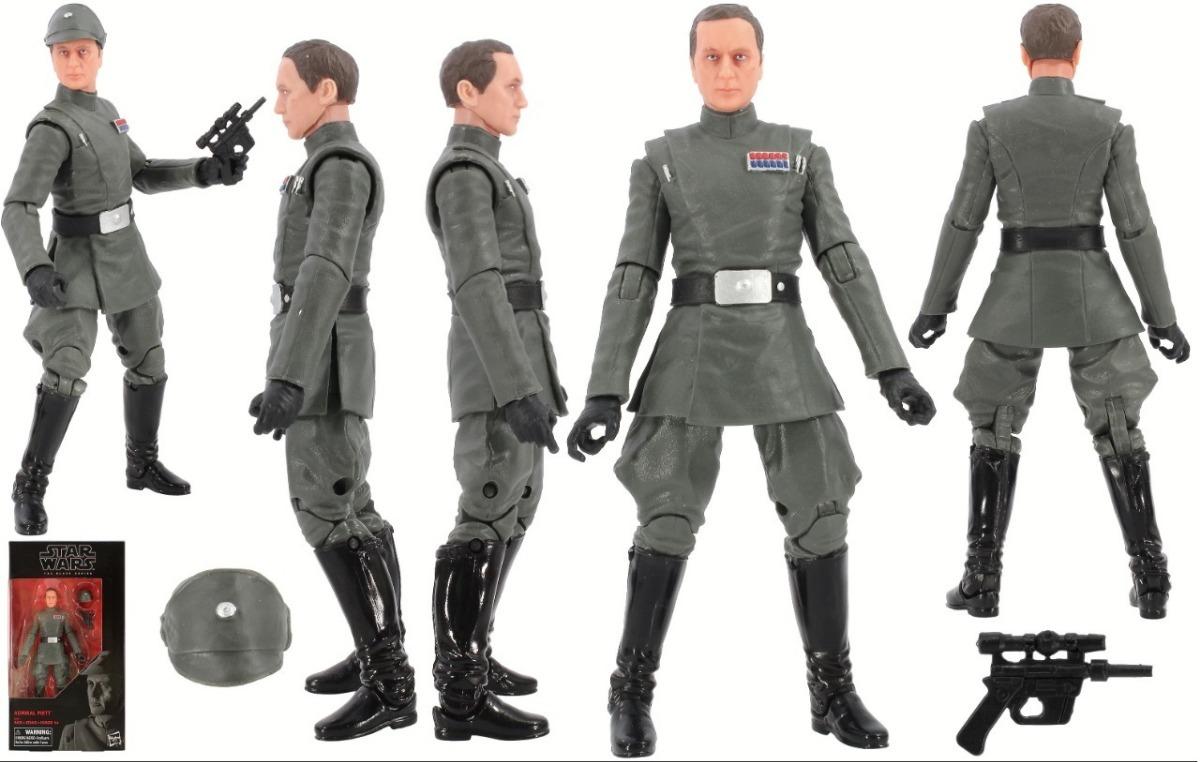 """Star Wars Black 6/"""" Action Figure Admiral Piett"""
