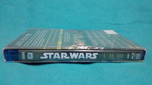 star wars blu ray original trilogy episodes 1, 2 y 3