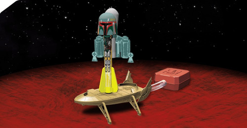 star wars boba fett launch lab cohete the force awakenes