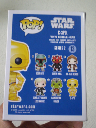 star wars! bobble head funko pop c3po!