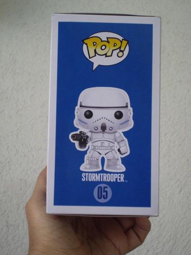 star wars! bobble head funko pop stormtrooper!