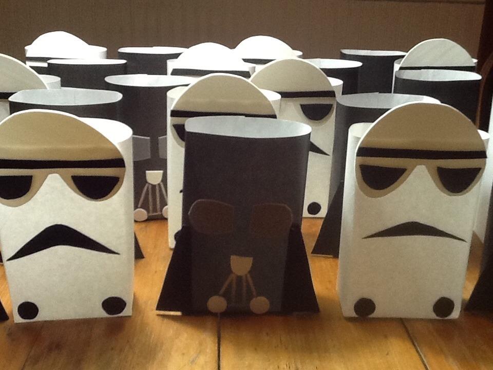 27b96b4bd Star Wars Bolsitas Artesanales Pack 5 Unid - $ 150,00 en Mercado Libre