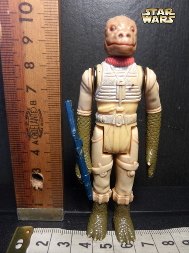 star wars bossk (bounty hunter - vintage empire strikes back