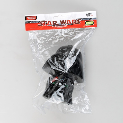 star wars cabezones darth vader y stormtrooper pvc 13 cm
