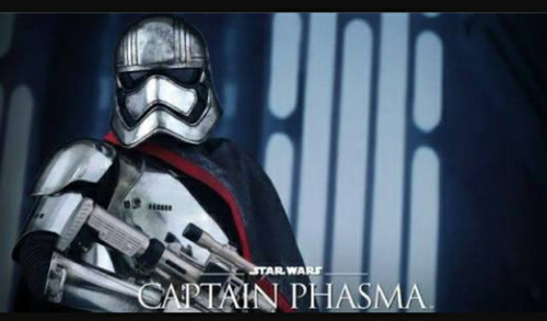 star wars capitan phasma 21cm die cast original disney store