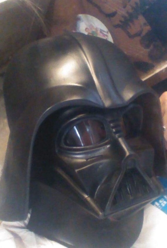 Star Wars Casco Darth Vader Completo Fibra De Vidrio - $ 1,250.00 en ...