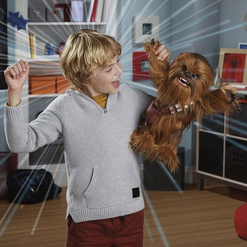 star wars chewie interactivo furreal-chewbacca original