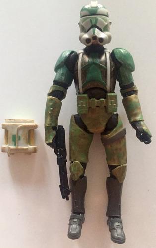 star wars clone commander gree de la colleccion vintage 10v