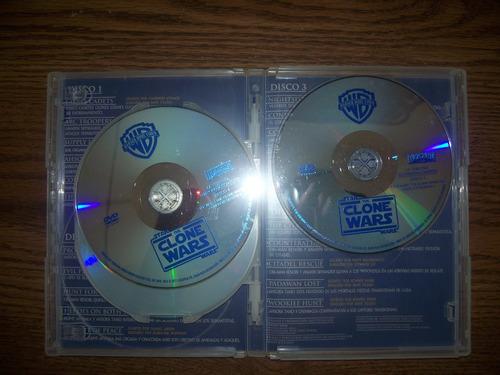 star wars clone wars dvd tercera temporada 3 guerras clonica