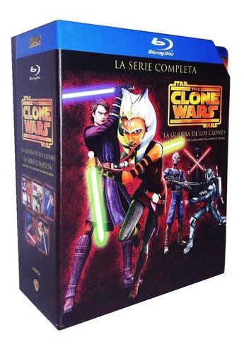 star wars clone wars guerra de clones serie completa blu-ray