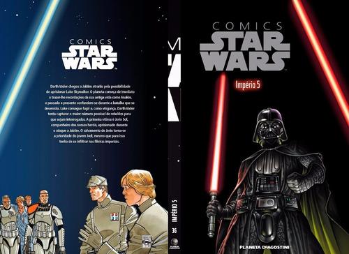 star wars comic books volume 36 planeta deagostini