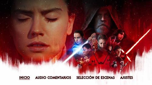 star wars completa bluray latino incluye solo envio incluido