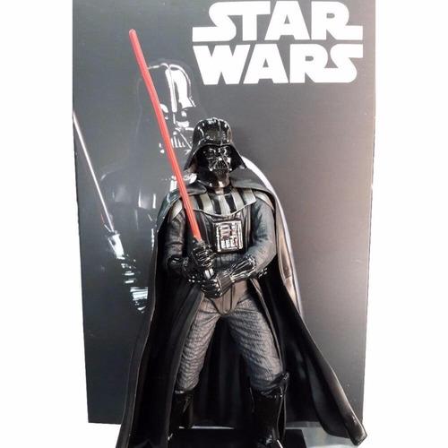 star wars darth vader 20 cms crazy toys cerrado sin uso!