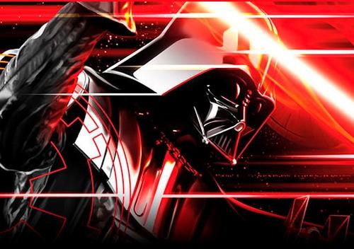 star wars darth vader lightsaber sable laser electronico